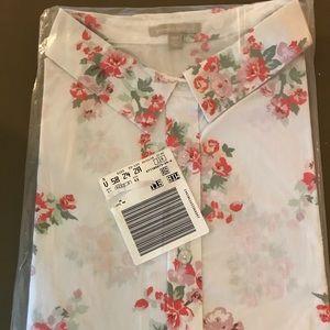 NWT women's button down shirt